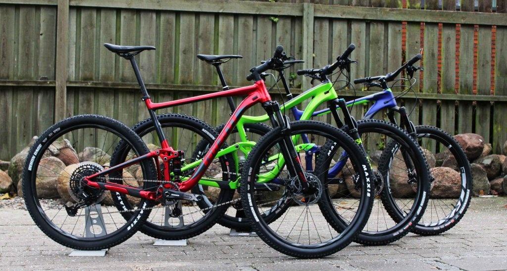 Giant Full-Suspension Mountainbikes i Megastore